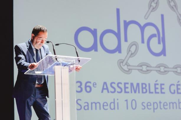 Discours de Jean-Luc Romero à Antibes pour la 36e AG de l'ADMD