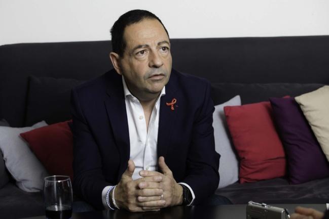 Jean-Luc Romero à Nevers, le 23 mai