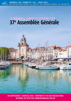 37e Assemblée générale de l'ADMD - La Rochelle - 14 octobre 2017