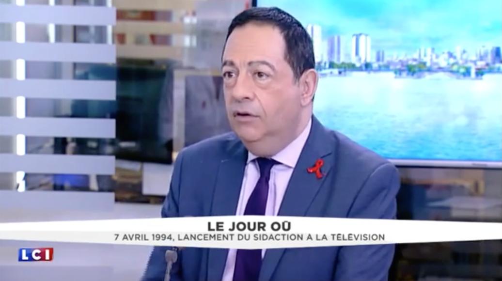 (VIDEO) Interview sur LCI de Jean-Luc Romero sur l'engagement international autour du VIH/Sida