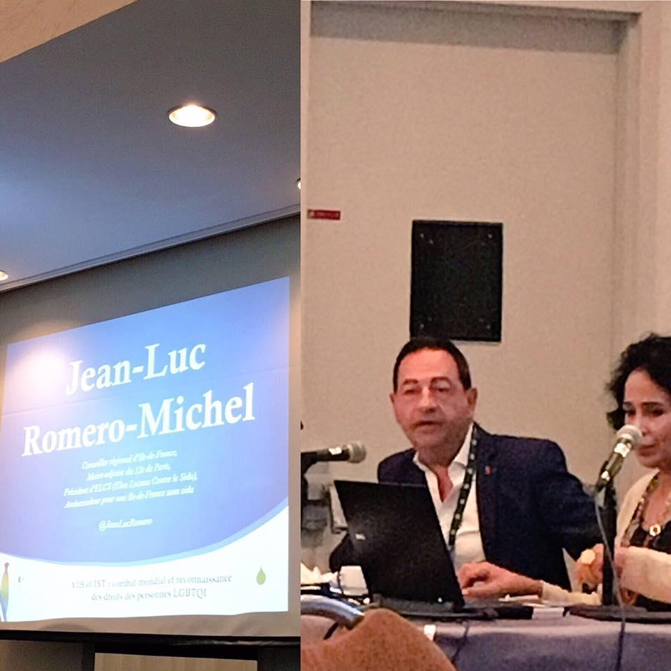 Discours de Jean-Luc Romero-Michel à la conférence Egalité et Légalité à Montréal