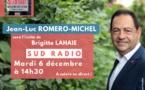 Invité de Sud Radio, mardi 6 décembre à 14h30