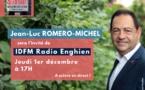 Invité de IDFM Radio Enghien, ce 1er décembre à 17h