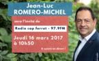 Invité de Radio Cap Ferret, ce 16 mars à 10 heures 50