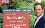 Invité de Radio Alpha, le 27 avril à 18h30