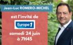 L'invité du matin d'Europe 1, ce 24 juin à 7H45