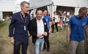 Ici en 2016 avec Antoine De Caunes, président d'Honneur de Solidarité Sida