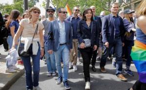 Avec la Maire de Paris, Anne HIDALGO, à la Marche en 2016
