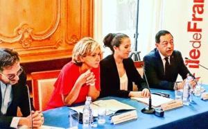 Conférence de presse pour Ile-de-France sans sida