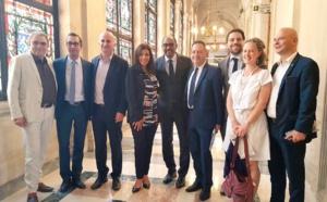 Avec Michel SIDIBE et Anne HIDALGO au Conseil de Paris