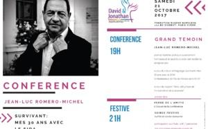 """Conférence """"SurVivant, 30 ans avec le sida"""" invité par David et Jonathan, le 21 octobre"""