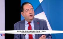 """Don du sang : """"le délai d'un an d'abstinence demandé, c'est absurde"""" Jean-Luc ROMERO (TF1/LCI)"""