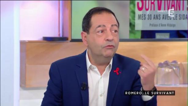 """""""Il retrace ses 30 ans de lutte"""" C à Vous sur France 5 (VIDEO)"""