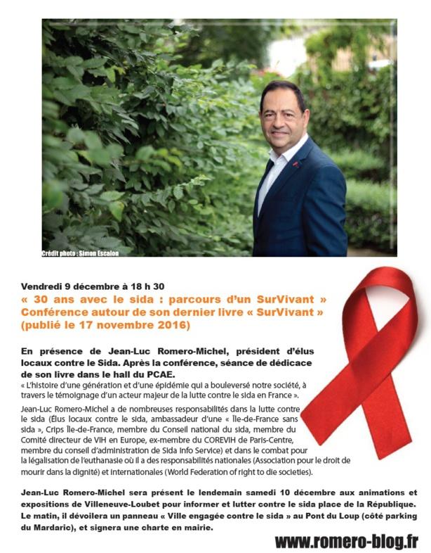 Conférence à Villeneuve-Loubet, le 9 décembre à 18h30