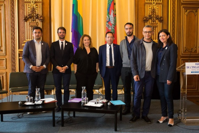 Remise du rapport « Paris, ville phare de l'inclusion et de la diversité » à Anne HIDALGO