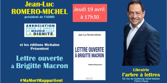 Rencontre-dédicace de Lettre ouverte à Brigitte Macron, le jeudi 19 avril à 17h30 à Paris 12e