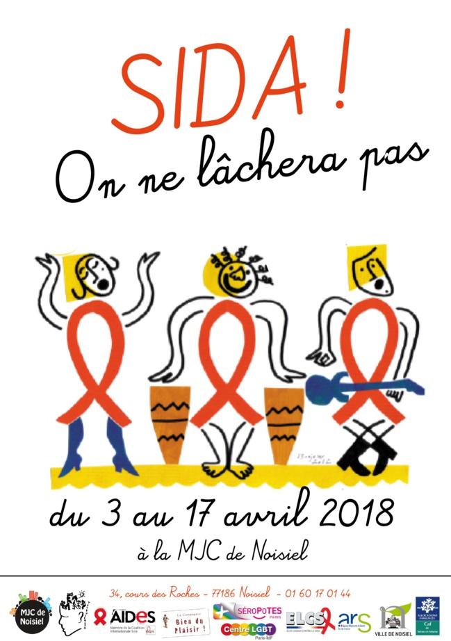 A Noisiel, le 7 avril 2018 pour une conférence sur 30 ans de lutte contre le VIH