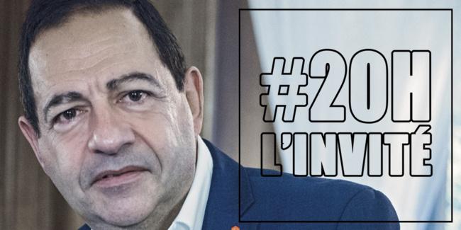 "(VIDEO) Jean-luc Romero-Michel est l'invité de ""20h, l'invité"" ce mardi 17 avril"