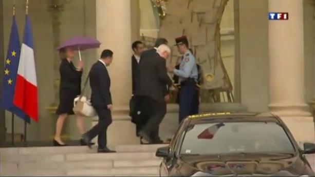 Entretien des parents de Florence Cassez avec le Président de la République