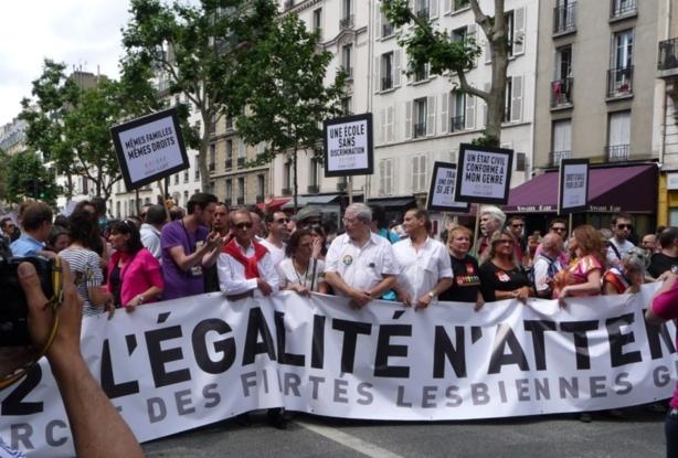 Marche des Fiertés LGBT : la dernière avant l'égalité homos/hétéros ?