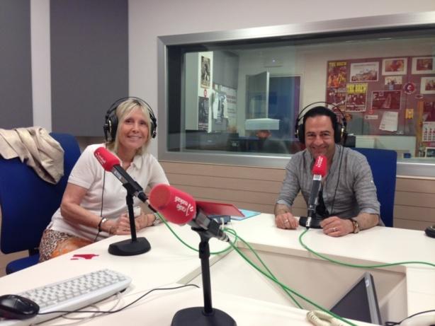 """Invité de la """"Radio Euskadi"""" (Espagne) pour parler du droit de mourir dans la dignité - Bilbao, le 11 juillet 2013"""
