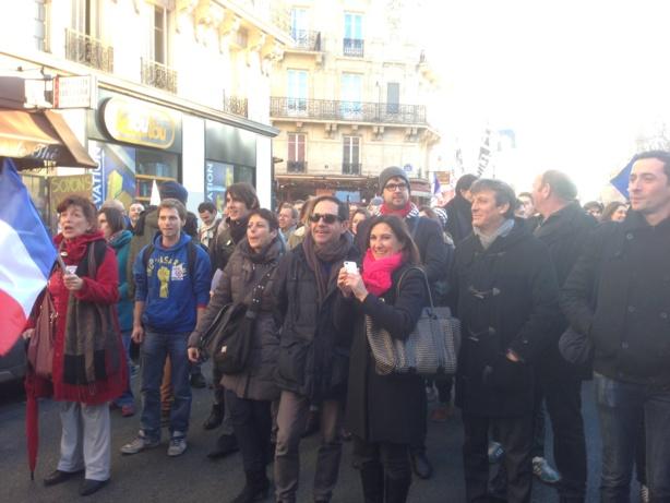 A la Marche des Républicains, dimanche 8 décembre dans le quartier de Bastille