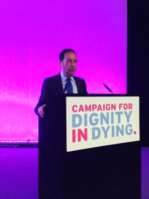 Speech in english by Jean-Luc Romero in London at the AGM of Dignity in Dying, May 3, 2014