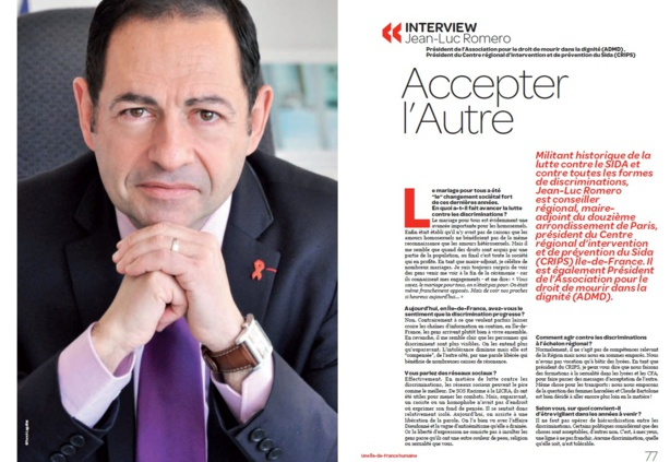 L'interview de Jean-Luc, dans le programme de Claude Bartolone