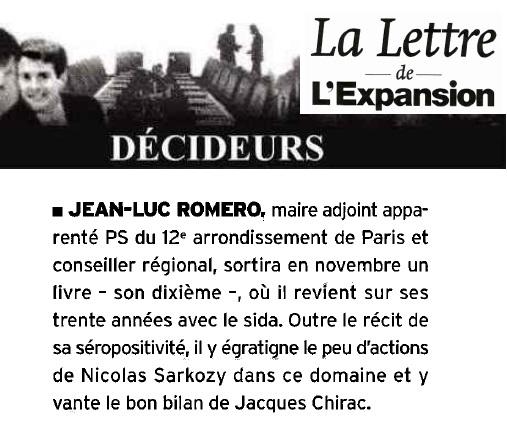 """On parle déjà de """"SurVivant""""...le nouveau livre de Jean-Luc Romero"""