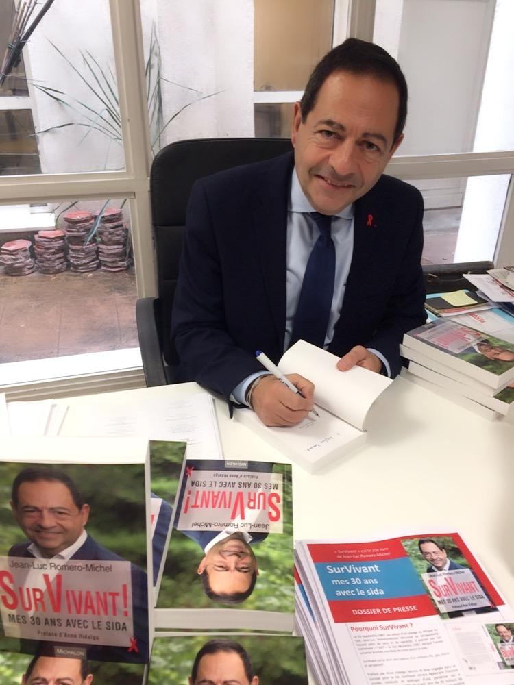Jean-Luc commence (presque) la promo de SurVivant, son nouveau livre