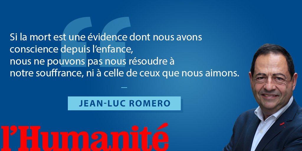 Tribune de Jean-Luc Romero, président de l'ADMD dans l'Humanité