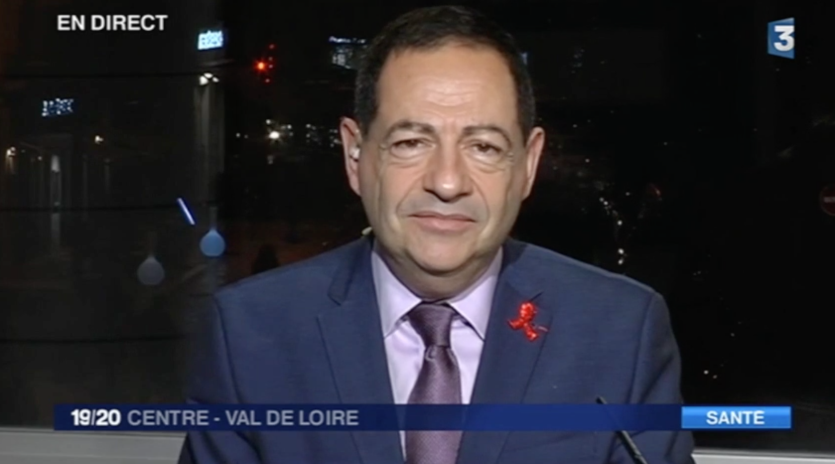 VIDEO - L'invité du JT de 19h de France 3 Val de Loire