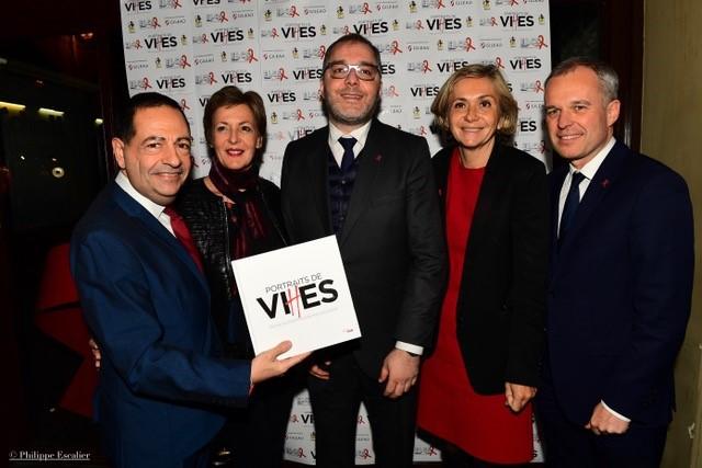 (Photo du haut : Jean-Luc Romero-Michel, président d'ELCS ; Frédérique Dumas, députée des Hauts-de-Seine ; Rachid Temal, coordinateur du PS, sénateur du Val d'Oise ; Valerie Pécresse, présidente de la Région Ile-de-France ; François de Rugy, président de l'Assemblée nationale.)
