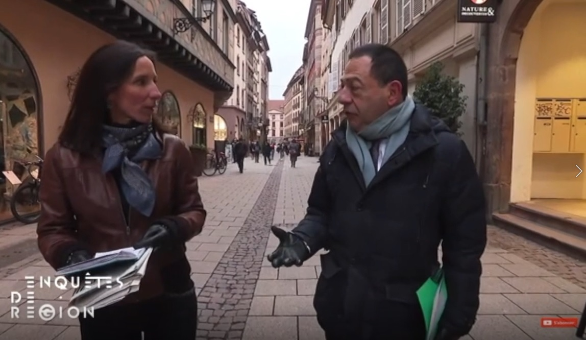 (VIDEO) Interview de Jean-Luc Romero-Michel dans Enquete de région sur France 3