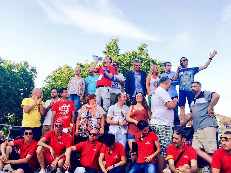 Parrain de la Lesbian et Gay pride de Montpellier