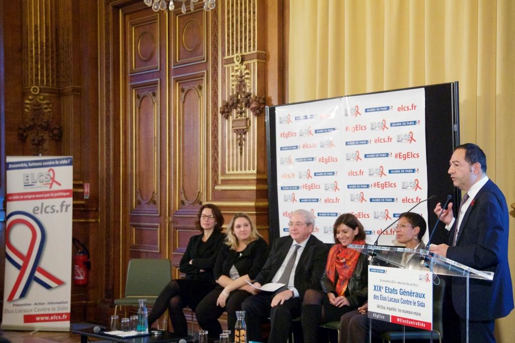 Intervention lors des 20e Etats Généraux des Elus Locaux Contre le Sida (Paris)