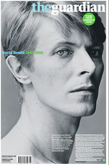 David Bowie or the brilliant transgression