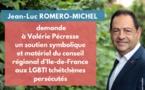 L'Appel de Jean-Luc Romero-Michel à la Région Ile-de-France pour soutenir les LGBTI tchétchènes persécutés