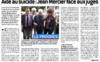 Jean Mercier : «Cet acharnement contre un monsieur de 89 ans nous scandalise».