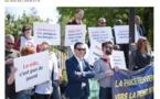 """Loi asile immigration """"Comme tous les militants qui sont ici, je suis très inquiet"""" Jean-Luc Romero-Michel"""