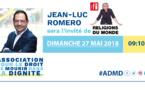 Jean-Luc Romero, ce dimanche 27 mai à 9h10 sur RFI