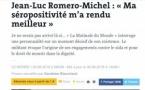 Portrait de Jean-Luc Romero dans Le Monde