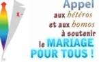 Appel (vidéo) aux hétéros et homos pour soutenir le mariage pour tous par Jean-Luc ROMERO