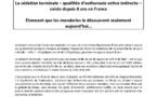 Communique de presse de l'ADMD France : Le Conseil national de l'ordre des médecins découvre la loi du 22 avril 2005 !