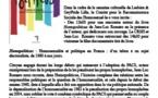 Projection / rencontre autour d'Homopoliticus, le 25 mai à Lille avec Jean-Luc ROMERO