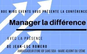 """Conférence """"Manager la différence"""" le 28 novembre à Weller International Business School"""