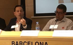 A Barcelone (Espagne), le vendredi 18 mai